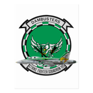 VFA-195 Dambusters Tarjeta Postal