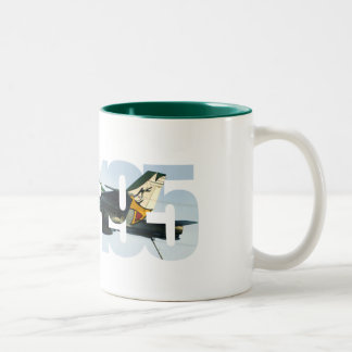 VFA-195 two-tone mug