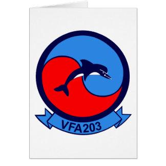 VFA-203 GREETING CARD