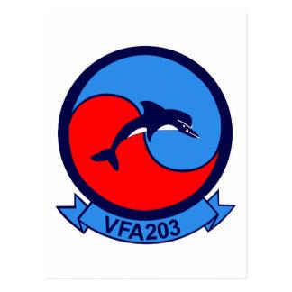 VFA-203 POSTCARD