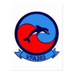 VFA-203 TARJETA POSTAL
