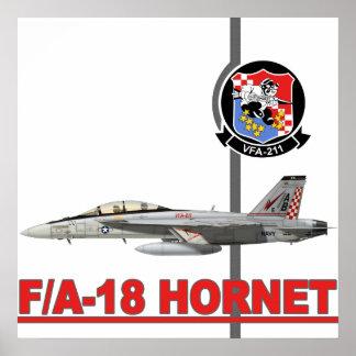 VFA-211 da jaque mate Póster