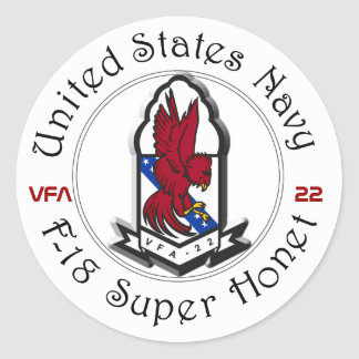 VFA-22 REDCOCKS STICKER