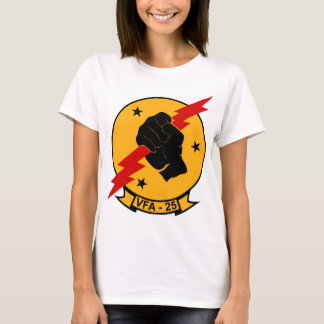 VFA - 25 Fighter Squadron Fist Of The Fleet T-Shirt