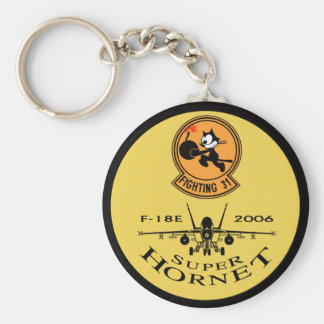 VFA-31 TOMCATTERS - F-18 Super Hornets Keychain