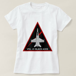 VFA - 41 Fighter Squadron Black Aces 3 T-Shirt