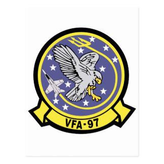 VFA-97 Warhawks Postcard