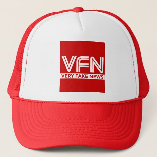 VFN Very Fake News Trucker Hat