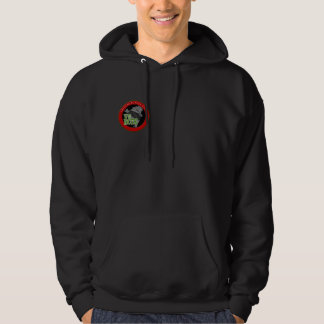 VFRCTK Hooded Sweat Shirt with Red Trim Logo