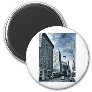 VFTBS - Howard and Baltimore Sts. Refrigerator Magnet
