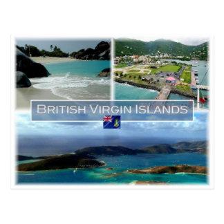 VG British Virgin Islands - Postcard
