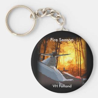 "VH Folland ""Fire Season"" Keyring"