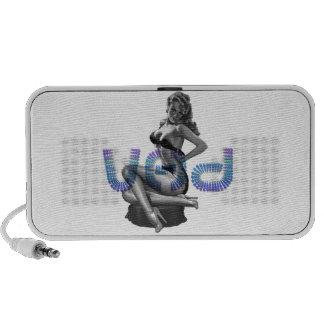 VHD Signature Pin-Up Portable Speaker