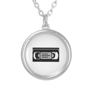 VHS Cassette Tape Personalized Necklace