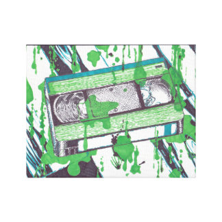 VHS Cassette Tape (Wrapped Canvas) Wall Art
