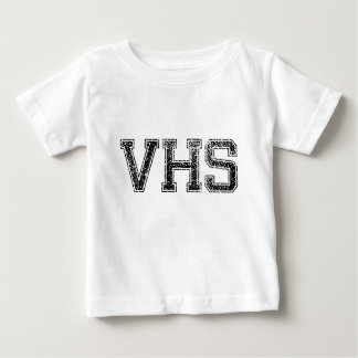 VHS High School - Vintage, Distressed Baby T-Shirt