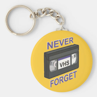 VHS, Never Forget Keychain