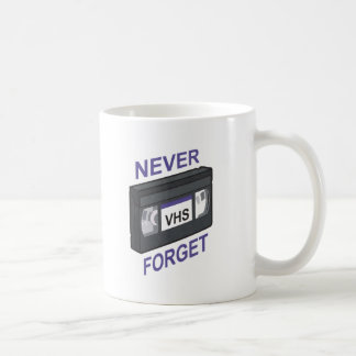 VHS, Never Forget Mugs