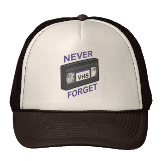 VHS, Never Forget Trucker Hat
