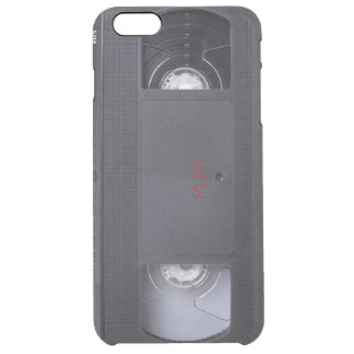 VHS play graphic phone case Uncommon Clearly™ Deflector iPhone 6 Plus Case
