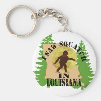 Vi Bigfoot Squatch en el llavero de Luisiana