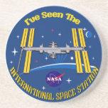 ¡Vi el ISS!! Posavasos Personalizados