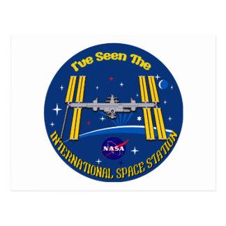 ¡Vi el ISS!! Tarjetas Postales