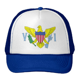 VI Flag Trucker Hat