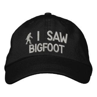 Vi la versión de lujo de Bigfoot Gorra De Béisbol Bordada