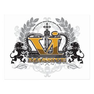 VI Massive Pride Design Postcard