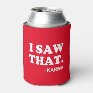 Vi que - poder de soda divertida de la cerveza del enfriador de latas