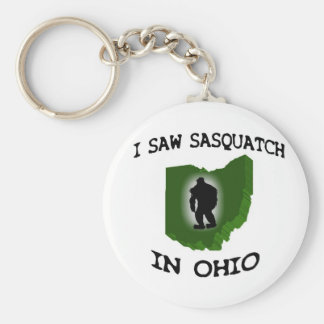 Vi Sasquatch en Ohio Llavero Redondo Tipo Pin