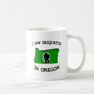 Vi Sasquatch en Oregon Taza Clásica
