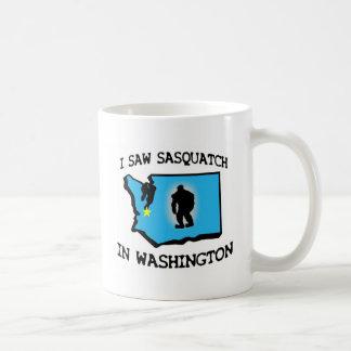 Vi Sasquatch en Washington Taza