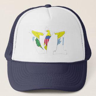 VI (Virgin Islands) Trucker Hat