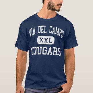 Via Del Campo - Cougars - Continuation - Fair Oaks T-Shirt