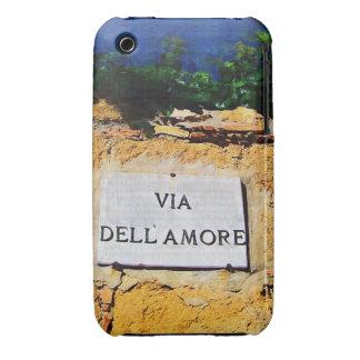Vía Dell Amore iPhone 3 Case-Mate Cárcasas