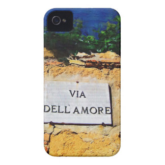 Via Dell Amore iPhone 4 Cover