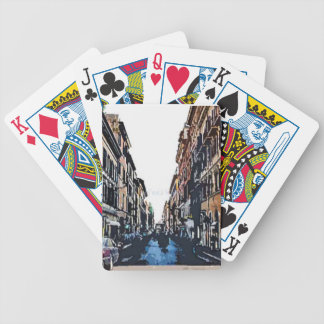 Via di Ripetta Bicycle Playing Cards