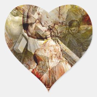 VIA DOLOROSA.jpg Heart Sticker