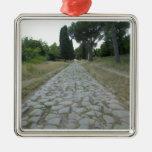 Vía la manera de Appia Appian, camino romano Adornos De Navidad