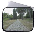 Vía la manera de Appia Appian, camino romano Fundas Portátiles