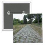 Vía la manera de Appia Appian, camino romano Pin