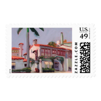 Via Mizner postage stamp