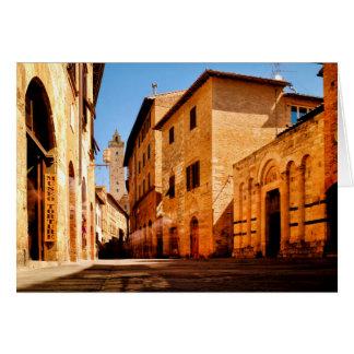Via San Giovanni Greeting Card