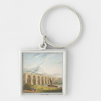 Viaduct across the Sankey Valley, plate 4 from 'Li Keychain