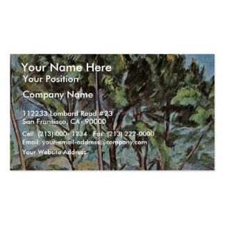 Viaduct By Paul Cézanne (Best Quality) Business Card Templates