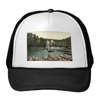 Viaduct, Gorlitz, Silesia, Germany rare Photochrom Trucker Hat