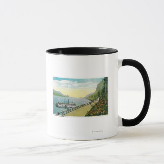 Viaduct Near Multnomah Falls, Columbia River Mug