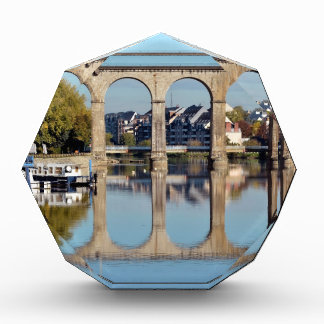 Viaduct on river Mayenne at Laval in France Acrylic Award
